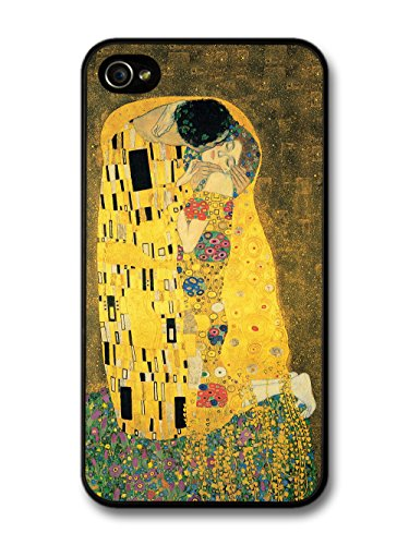 The Kiss - Gustav Klimt Painting iPhone 4 4S case