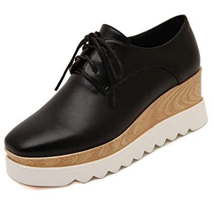 f5c5d15757b7e Amazon.com: Hy Women's Shoes,Spring/Fall Comfort Sneakers,Thick ...