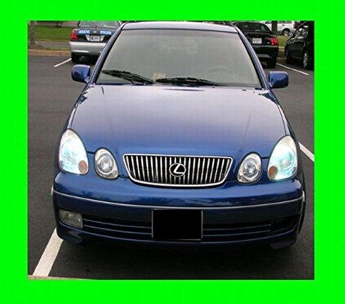 312 Motoring fits 2001-2005 Lexus GS300 GS430 Chrome Grill Grille KIT GS 300 430 2002 2003 2004 01 02 03 04 05 ()