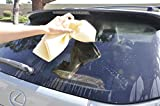 Denali USA Auto Seekin 45 Soft And Durable Synthetic Suede Chamois Fast Drying Cloth For Auto Car Wash Windows Kitchen Table Sofa Cleaning (746 sq in'')
