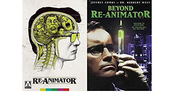 Re-animator Horror Movie Rings  Reanimator Jewelry  Horror Rings