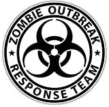 zombie response tire cover - 1 Pc Blameless Popular Zombie Outbreak Response Team Sticker Sign Car Decal Auto RV Truck Size 4.5