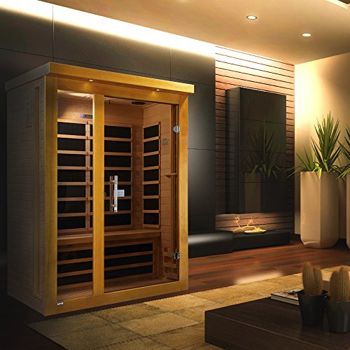 Dynamic Saunas AMZ-DYN-62-15-01 Vienna Low Emf Far Infrared Sauna (Infrared Sauna Therapy)
