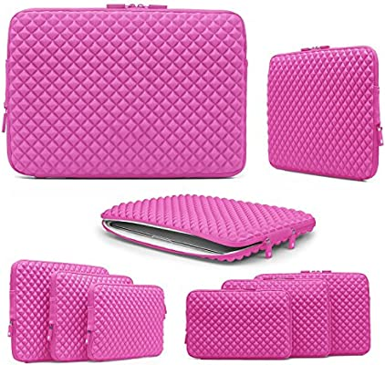 Urcover Funda Universal Estuche para Tablet Ordenador Portátil 15 Pulgadas Funda de Viaje Protección Sleeve Bolso en Fucsia Laptop MacBook Notebook iPad Samsung Tab ASUS Acer: Amazon.es: Electrónica