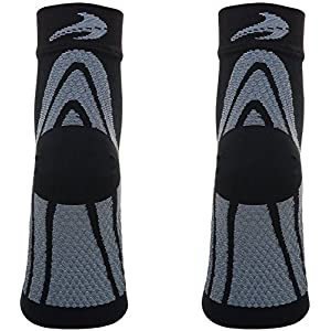Plantar Fasciitis Socks - Compression Foot Sleeves - Ankle Brace with Arch Support - Pain Relief from Heel Spurs, Edema, Achilles Tendonitis - Reduce Swelling & Improve Circulation By CompressionZ