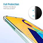 TechBasics Shockproof Bumper Case for Apple iPhone 11 Pro-Transparent (Military Grade Drop Tested with AirShield…