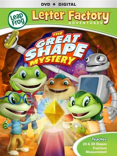 Leapfrog Letter Factory Adventures: Great Shape Mystery [DVD + Digital]