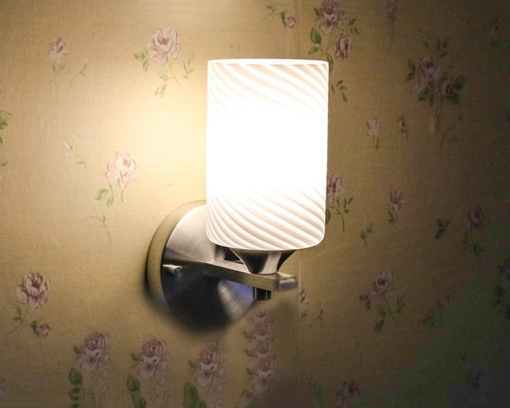 Wandleuchte LED Glas kreative Wohnzimmer Schlafzimmer Nachttischlampe lösen (Farbe  A)