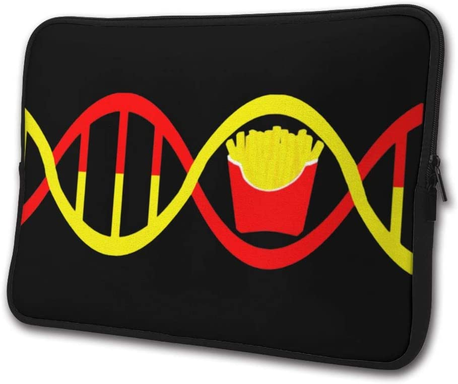 French Fries DNA Laptop Sleeve Case Computer Cover Handbag