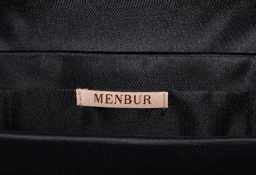 MENBUR Airplane - Bolso de mano mujer negro - negro