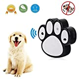 Ultrasonic Bark Control, Aolvo Anti Barking Device Training Tool, Barking Controller, Bark Stopper, Dog Paw Shape, Safe for Small/Medium/Large Dogs Outdoor Use, up to 50 Feet Range (2018 Upgraded)