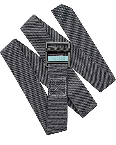 Blue Expedition Pant (Arcade Belt Mens Utility Guide Belts: Heavy Duty Stretch Webbing, Non-Slip Buckle, Charcoal/Blue)