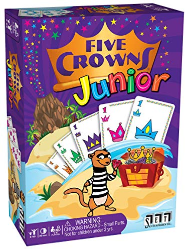 Five Crowns Junior Card Game (Swish Card Game)