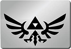 Zelda Link Triforce Shield Legend of Zelda Computer Skin Apple Sticker Laptop Sticker Macbook Decal Computer Sticker Macbook 13 Inch Vinyl Decal Sticker Skin Cover Computer Sticker Computer Decal Decal Mac Decal for Mac Laptop Sticker Laptop Decal Newest Version Macbook Pro Laptop Quotes