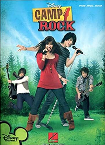 amazon camp rock piano vocal guitar not available rock