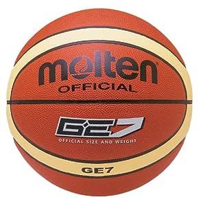 MOLTEN Thetic - Balón de baloncesto (piel sintética) naranja ...