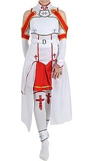 26c54a2dcd0 Disfraz de Cosplay de Asuna de Sword Art Online: Amazon.es: Ropa y ...