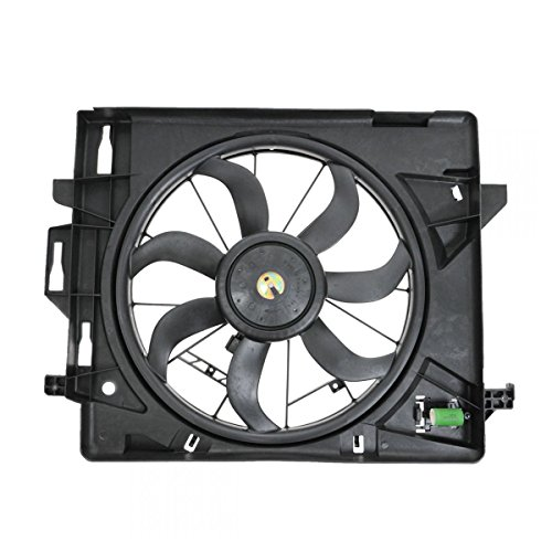 (Radiator Cooling Fan for 08-10 Chrysler Dodge Caravan Town & Country Van)