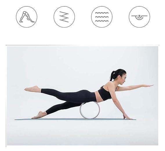 HHH Rueda de Yoga Macaron para el Dolor de Espalda Material ...