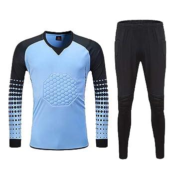 AIALTS Traje Portero Camiseta De Fútbol, Camisa Manga Larga ...