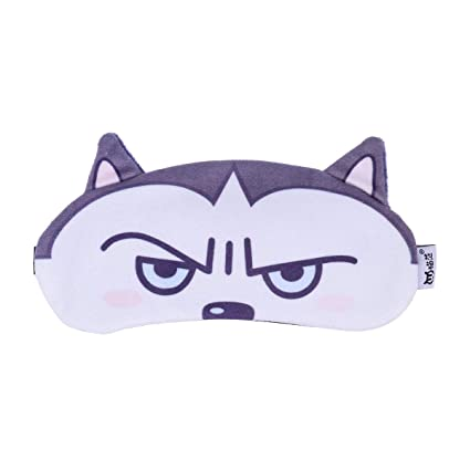 Amazon.com: SUPVOX Eye Mask Funny Cute Dog Pattern Sleep ...
