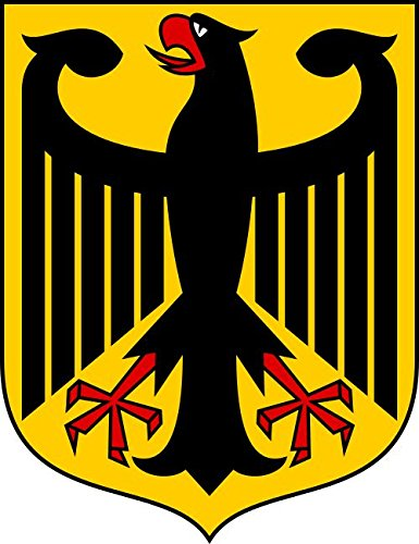 - Germany German Coat of Arms bumper sticker 4
