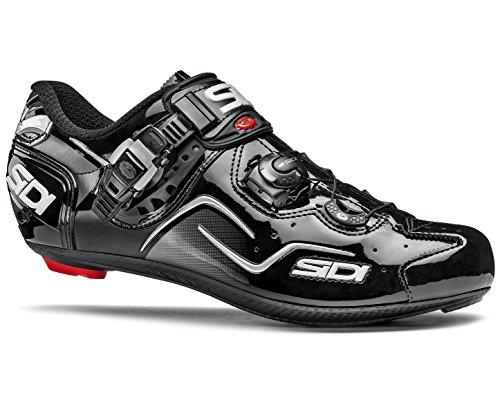 タクトシート妊娠したSIDI(シディ) KAOS(カオス) Road Cycling Shoes - Black/Black [Size: 38~46 EUR] [並行輸入品]