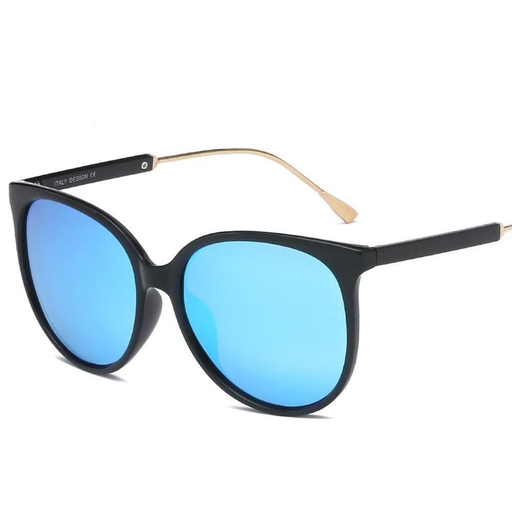 Aoligei Gafas de sol polarizadas macho y hembra color brillante retros gafas de sol gafas de sol tendencia