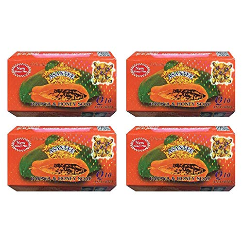 - Papaya Soap and Honey Skin Whitening Facial and Body Soap Pack of 4