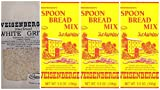 Weisenberger Mills 1 - 2lb Southern White Grits 3 - 5.5 oz Spoon Bread Mix A Ky Proud Product Non GMO Bundle 4 Items