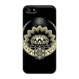 Defender Case With Nice Appearance (obey Lotus) For Iphone 5/5s