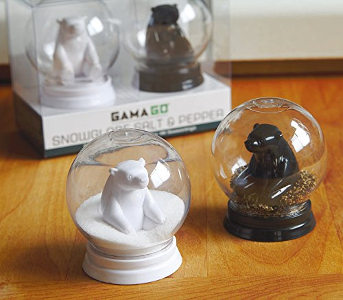 Amazon.com: Snow Globe Salt And Pepper Shakers (By GAMAGO): Kitchen U0026 Dining Idea