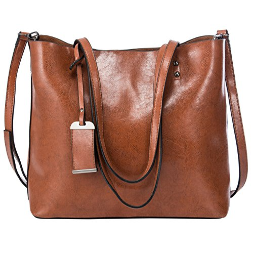 Design Leather Tote Bag (Women Top Handle Satchel Handbags Shoulder Bag Messenger Tote Bag Purse)