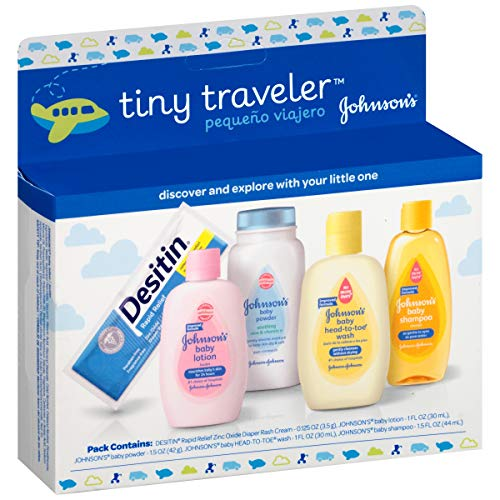 baby products, gifts,  gift sets 1 picture Johnson & Johnson Baby Take Along Travel Pack (Baby in USA