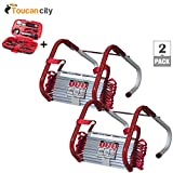 Toucan City Tool Kit (9-Piece) and Kidde 2 Story Escape Ladder (2-Pack) 468093