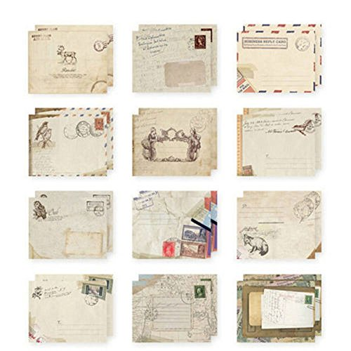 European Envelope Birthday Greeting different