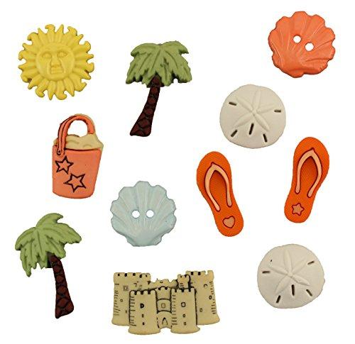 (Buttons Galore Beach Bum Button Bag)
