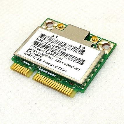 Amazon.com: HP Realtek rtl8188ce Half Mini PCIe tarjeta ...