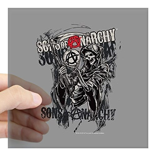 CafePress - Sons Of Anarchy Reaper Square Sticker 3