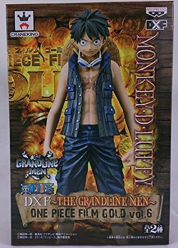 """One Piece 5.9/"""" Film Gold Monkey D Luffy DXF The Grandline Men Volume 1"""