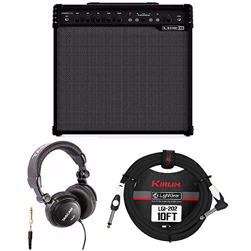 - Line 6 Spider V 120 1x12 Combo Guitar Amplifier with Headphones and Instrument Cable