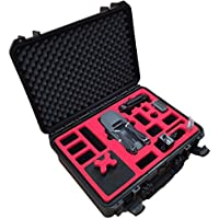 Professional Carrying Case fits for DJI Mavic Pro - Explorer Case Edition - with extensive space for 7 batteries, many accessories, DJI shoulder bag by MC-CASES (Explorer Edition)