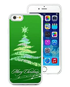 Hot Sell Design iPhone 6 Case,Christmas Tree White iPhone 6 4.7 Inch TPU Case 24