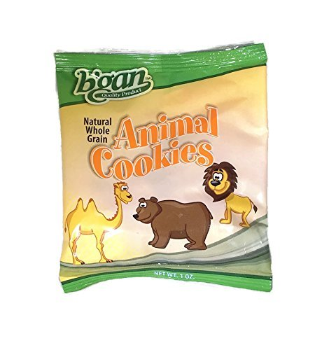 B'GAN Natural Whole Grain Animal Crackers