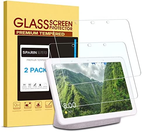 [2 Pack] Google Home Hub/Google Nest Hub Screen Protector, SPARIN Tempered Glass Screen Protector with High Definition, Scratch Resistant, Easy Installation for Google Nest Hub/Google Home Hub – The Super Cheap