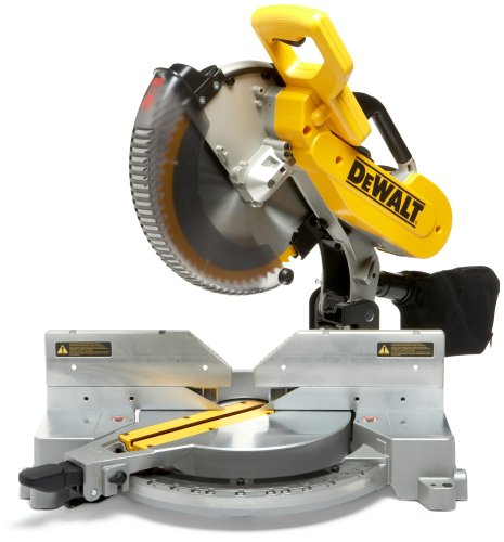 DEWALT DW716R 15 Amp Double-Bevel Compound Miter Saw (Certified Refurbished)