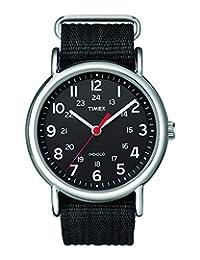 Timex, Reloj Unisex de Cuarzo T2N647PF, Negro