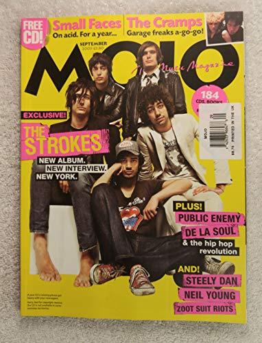 - The Strokes - Mojo Magazine - Issue #118 - September 2003 - Public Enemy, De La Soul & the hip-hop revolution, Zoot Suit Riot, Small Faces, The Cramps articles
