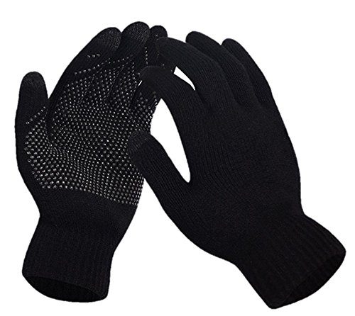 Touch Screen Knitted Non-slip Gl...