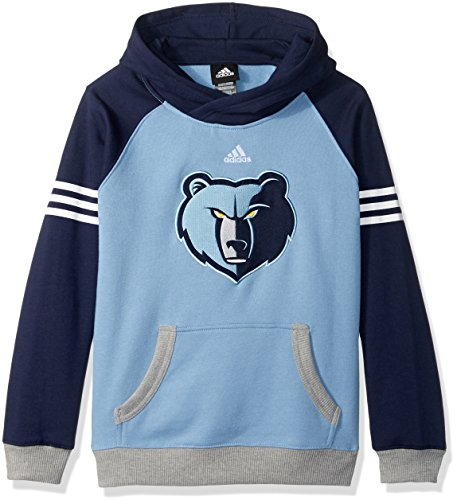 NBA Youth 8-20 Memphis Grizzlies Robust Pullover Hoodie-Forever Blue-M(10-12) (Hoody Forever Pullover)
